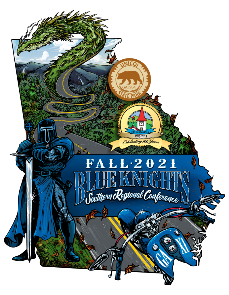 blue knights fall 2021graphic